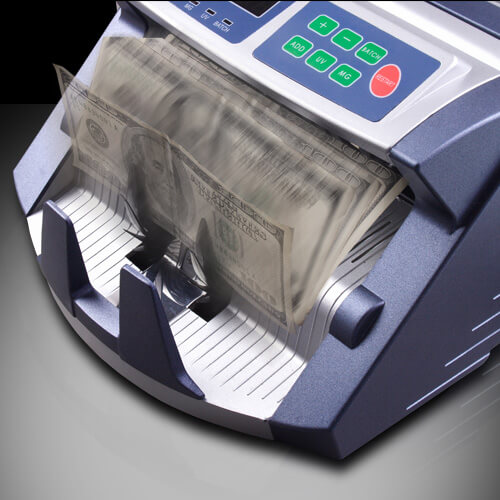 3-AccuBANKER AB 1100 PLUS UV contadora de billetes