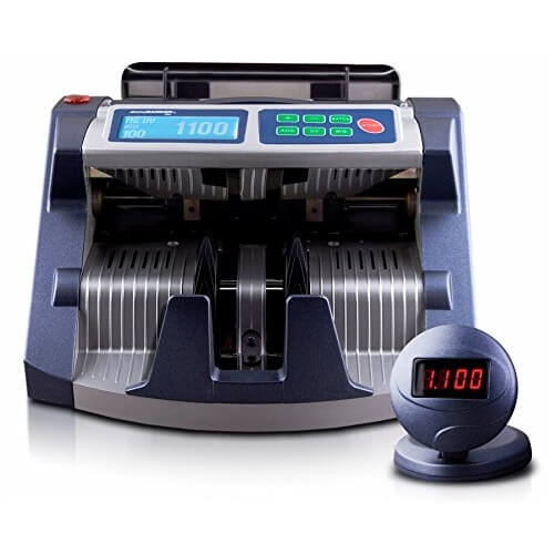 1-AccuBANKER AB 1100 PLUS UV/MG money counter