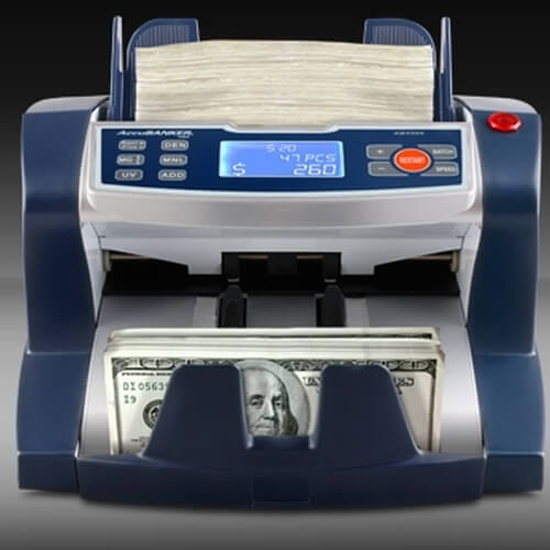 1-AccuBANKER AB 5500 money counter