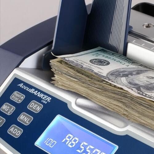 2-AccuBANKER AB 5500 liczarka do banknotów